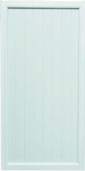 TRENDLINE-KS-Sichtschutz 90 x 180 cm, weiß Rahmen 50/70 mm, Füllung 17/200 mm
