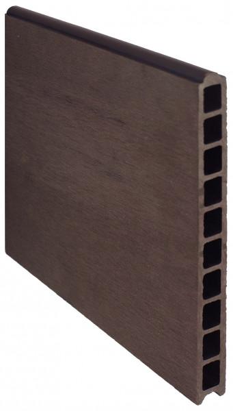 TJÖRN -Serie WPC-Steckzaunsystem Zaunlamelle 20 x 245 x 1795 mm, SCHOKOBRAUN #A05