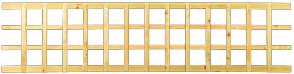 TRELLEBORG-System Rankgitter überblattet grün 180 x 42,5 x 2,8 cm