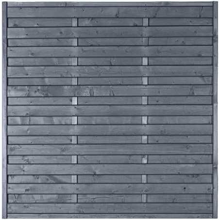 MOONLINE-Serie 180 x 180 cm Rahmen 45 x 45 mm, grau lasiert