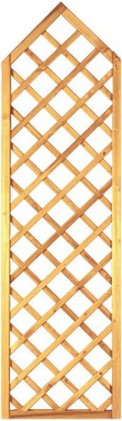 Gotik-Ranki spitz grün 60 x 210/ 180 cm Rahmen 45/45 mm Maschenweite ca. 10 x 10 cm