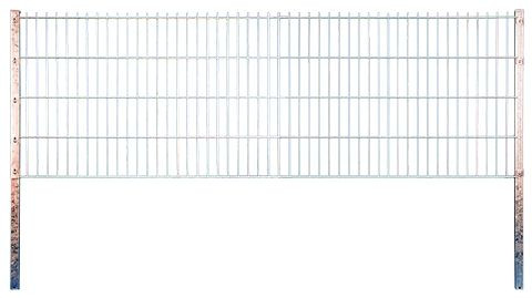 JUMBO Doppelstabmatte feuerverz. 2500 x 1630 mm, MW 200/50, Stäbe 8/6/8 mm