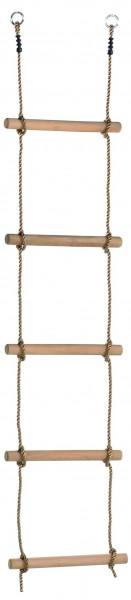 Strickleiter einfach mit 5 Sprossen Länge ca. 210 - 240 cm