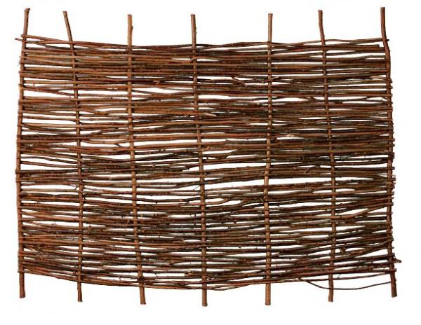 PABLO Haselnusszaun, stabil 180 x 120 cm