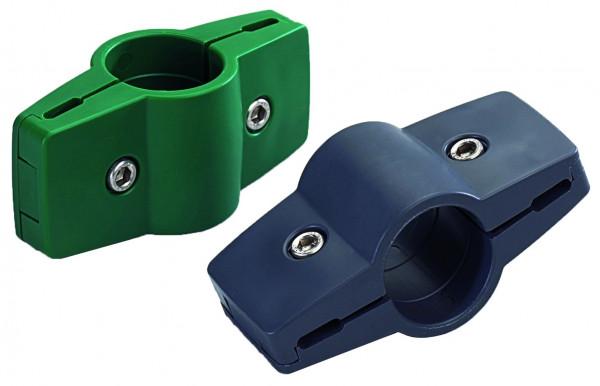STRONG Endlosverbinder für Gitterzäune ANTHRAZIT, Ø 34 mm, 2-fach